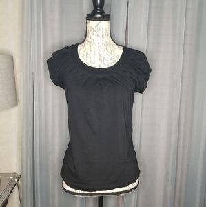 Banana Republic black blouse